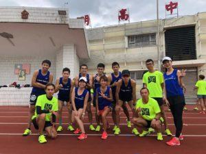 2019 MIZUNO 接力賽訓練營 大合照