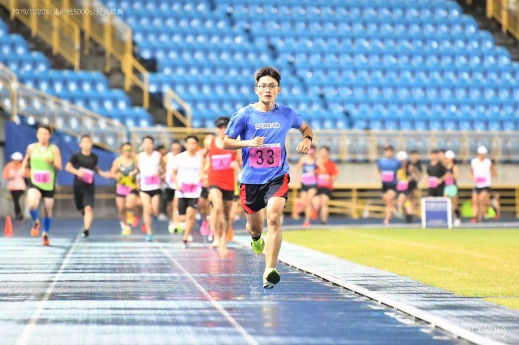 單純喜愛跑步