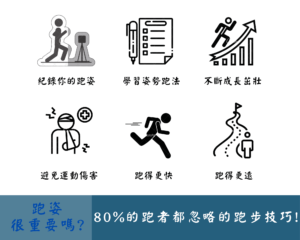 跑姿很重要嗎 80% 的跑者都忽略的跑步技巧