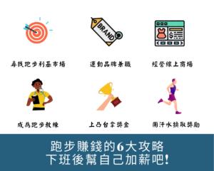跑步賺錢6大攻略
